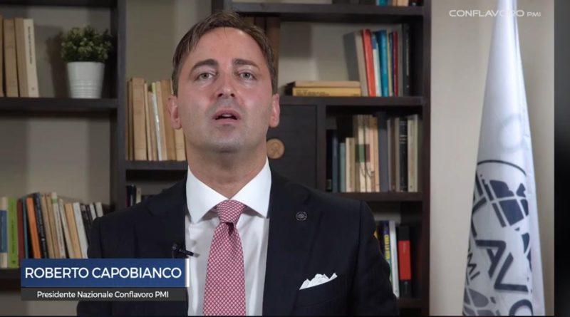 ECCO IL MESSAGGIO DEL PRESIDENTE CONFLAVORO PMI ROBERTO CAPOBIANCO
